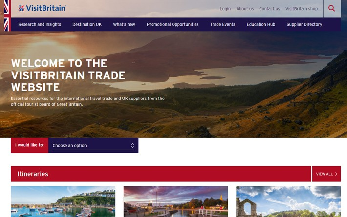 Trade website screengab