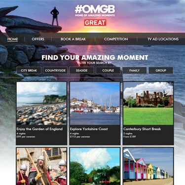 Our #OMGB campaign hub