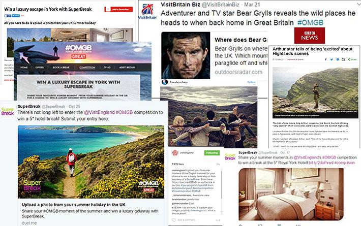 Domestic press, PR and social media coverage