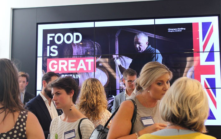 Food is GREAT event with DEFRA