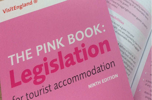 printed copy of the 9th edition of the Pink Book