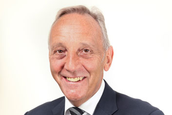 Headshot of observer to the board Kevin Murphy OBE